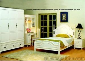 Bed Series White Furniture jepara