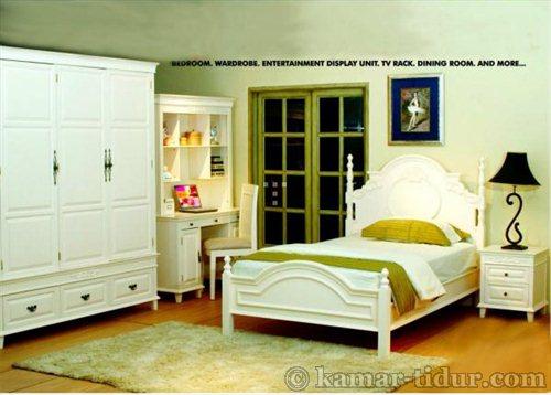 sale Bed Series White Furniture jepara