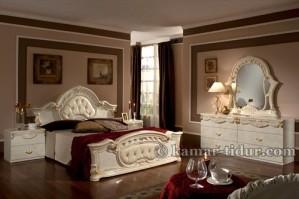 Klasik Furniture/mebel Antik Tempat Tidur kamar (KTK 003)
