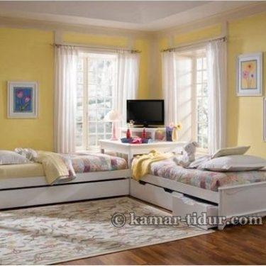Tempat Tidur Anak Remaja Leter L