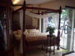 Tempat Tidur Kanopi Jati Murah