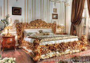 Set kamar mewah Italian Bed 002