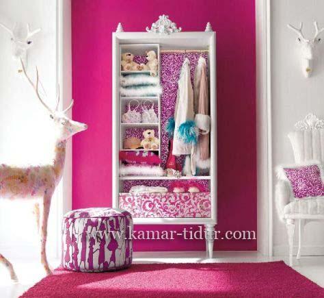 lemari pakaian anak perempuan