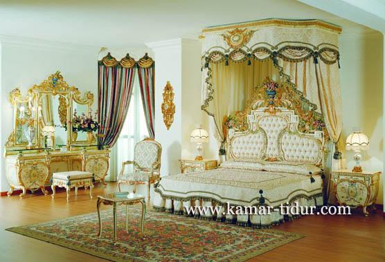 interior kamar pengantin mewah