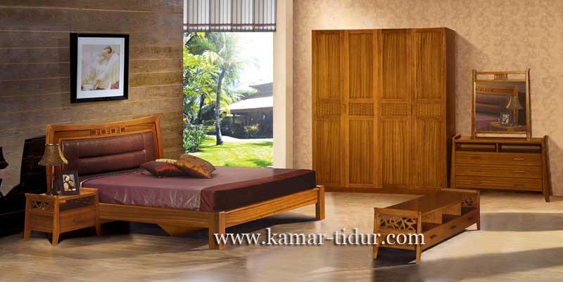 jual tempat tidur set model minimalis modern furniture