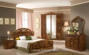 Kamar Tidur Klasik Kayu Jati