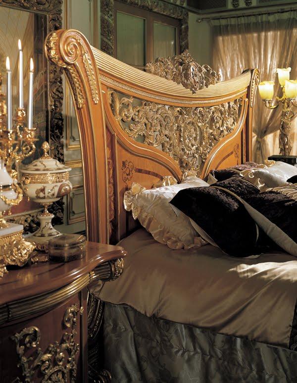 model kepala dipan tempat tidur mewah model klasik