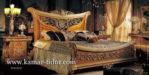 tempat tidur mewah model klasik