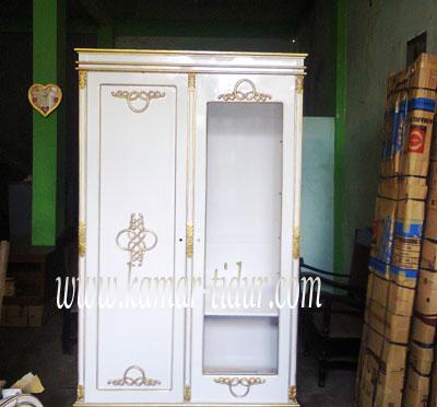lemari pakaian 2 pintu pesanan ibu dewi jakarta