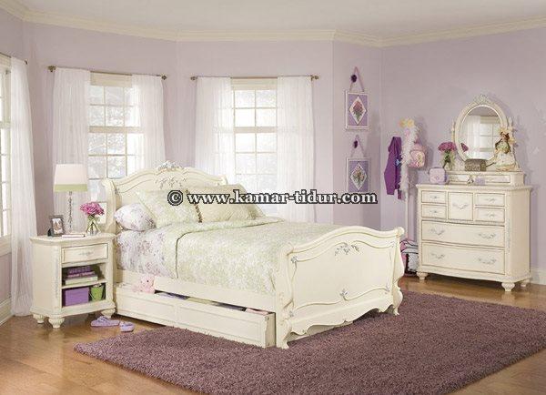 Set Kamar Tidur Anak Perempuan Romance