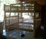 Tempat tidur tingkat ukuran 160 x 200 pesanan dari bali