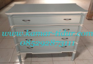 drawer kamar tidur modern classic pesanan ibu fia bogor