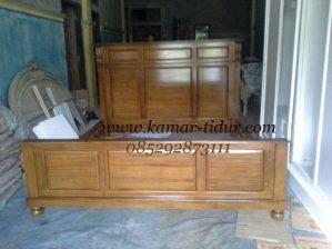 tempat tidur minimalis kayu jati pesanan bpk rusdi tanggerang