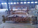 tempat tidur ukiran relief kayu jati pesanan londo