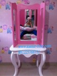 Meja rias anak princess
