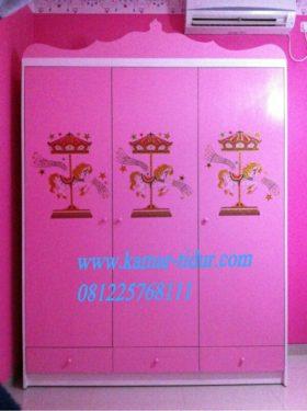 lemari pakaian anak princess lemari anak princess jual