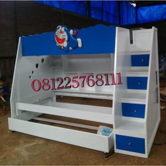 Tempat Tidur Tingkat Karakter Doraemon