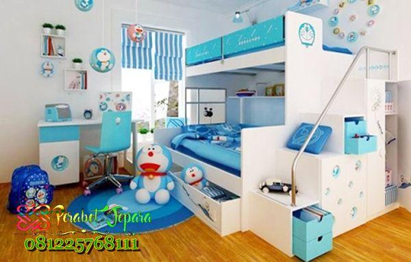kamar tidur anak perempuan doraemon