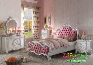 Set tempat tidur anak princess mewah