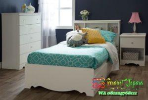Tempat tidur anak fungsional ukuran 120 x 200