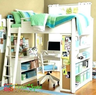 Tempat Tidur Anak Tingkat Minimalis Multifungsi