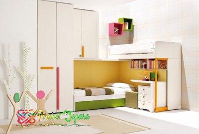 warna kamar anak 1 warna