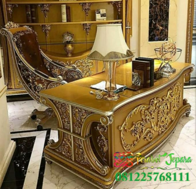 Kayu Jati Diukir Jadi Furniture Jepara Yang Indah