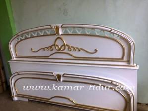set tempat tidur untuk pengantin murah pesanan ibu dewi jakarta