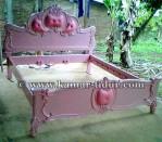 Tempat Tidur Warna Pink Pesanan Ibu Elis Sulawasi