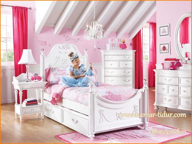 tempat tidur anak cinderella