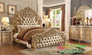 Set Tempat Tidur Mewah Ukir Jepara